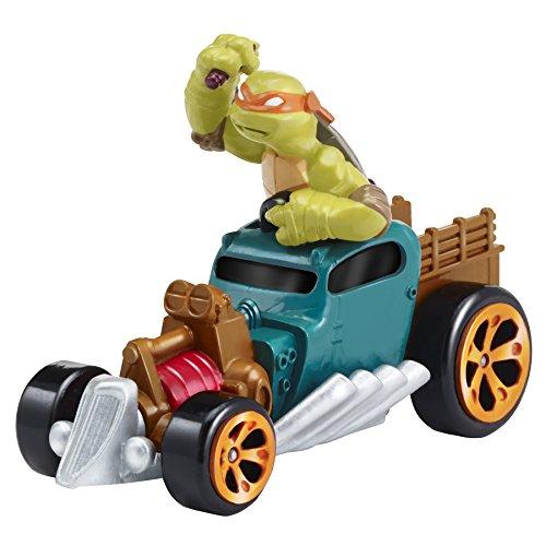 Teenage Mutant Ninja Turtle Dog Costume (Teenage Mutant Ninja Turtles T-Machines Michelangelo in Hot Rod Diecast Vehicle)