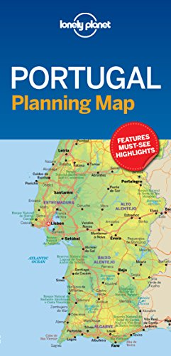 Planning Map - Lonely Planet Portugal Planning Map
