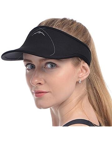 1b47b1e4 UShake Sports Sun Visor, Visors Hat for Man or Woman in Outdoor Golf Tennis  Running