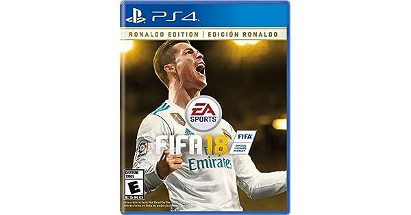 Amazon.com: FIFA 18 Ronaldo Edition - PS4 [Digital Code ...