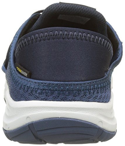 cheap sale with credit card outlet low cost Jack Wolfskin Men's Seven Wonders Packer Low M Slip On Trainers Blue (Ocean Wave) fast delivery for sale Phynk