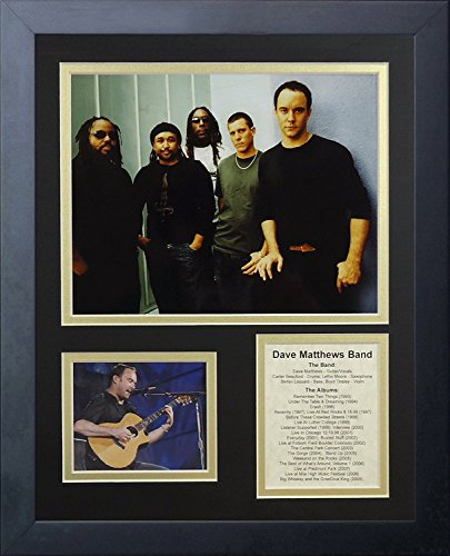 Legends Never Die Dave Matthews Band Framed Photo Collage, 11x14-Inch