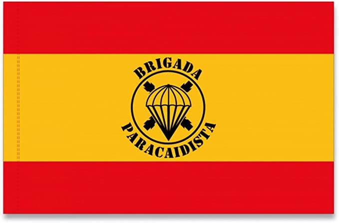 M.ALBAINOX - Bandera españa brigada paracaidista: Amazon.es: Productos para mascotas
