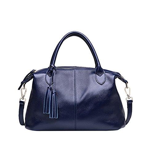 Mena UK-Frau Handtasche multicolor optional 2017 neue weiche gefransten Schulterriemen aus Leder Handtasche / Handtasche