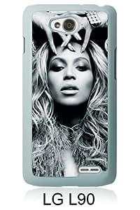 Beyonce White Fantastic Design LG L90 Phone Case