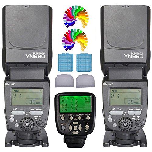 YONGNUO YN660 Flash Speedlight KIT + YN560TX C Flash Trigger