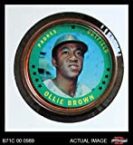 1971 Topps Coins # 133 Ollie Brown San Diego Padres (Baseball Card) Dean's Cards 3 - VG Padres