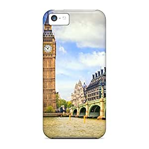 iphone 5c Retail Packaging phone cover skin Protective Cases covers big ben palace of westminster in london