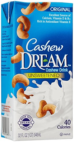 IMAGINE FOODS Cashew Bev Organic Orig Unsweet, 32 FZ