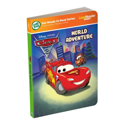 Leapfrog LeapReader Junior Book: DisneyPixar Cars 2: World Adventure (works with Tag Junior) (Leapfrog Learning Friends Play And Discover School Set)