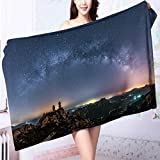 AmaPark Microfiber Towels The Galaxy Multipurpose, Quick Drying L39.4 x W19.7 INCH
