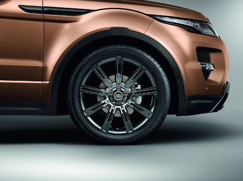 """Land Rover Range Rover Evoque (2014) Car Art Poster Print on 10 mil Archival Satin Paper Brown Front 1/4 Panel Studio View 20""""x15"""""""