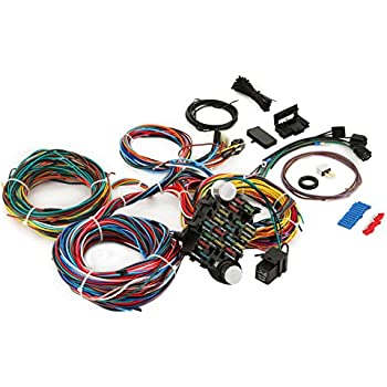 amazon com ez wiring 21 standard color wiring harness ez wiring manual 21 ez circuits wiring harness #14