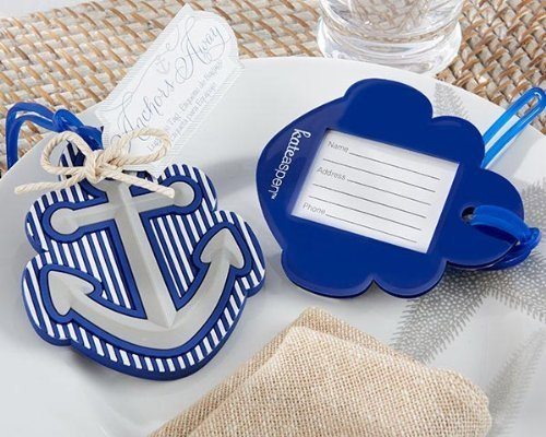 Aspen Luggage (Anchors Away Luggage Tag -72 count by Kate Aspen)