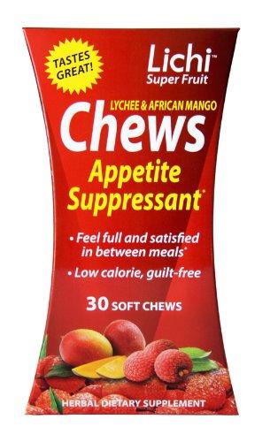 Lichi Super Fruit coupe-faim Bouchées tendres 30 Count