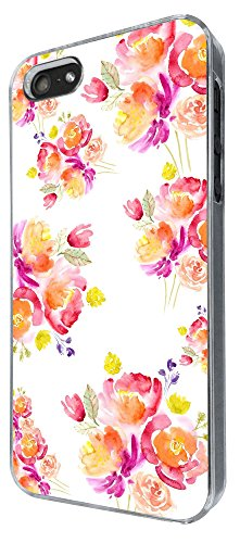 617 - Floral Shabby Chic Roses Design iphone 5 5S Coque Fashion Trend Case Coque Protection Cover plastique et métal