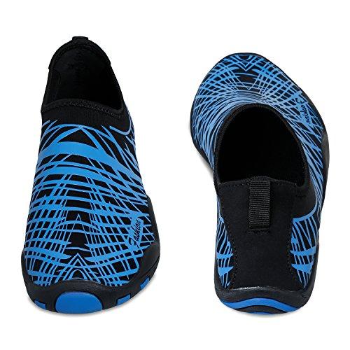 Yoga Socks Quick On Shoes Slip Blue Mens SANMIO Aqua Swim Womens For Shoes Water Barefoot Shoes Skin Dry Unisex C0xfwnpq4R
