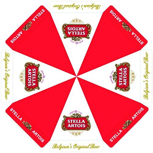 Stella Artois Beer 7 foot PATIO UMBRELLA MARKET STYLE NEW
