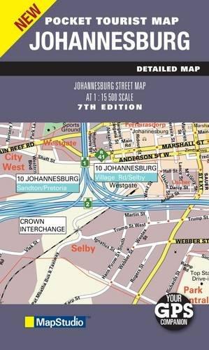 Johannesburg 2011 Pocket Map 1:15,500 MapStudio