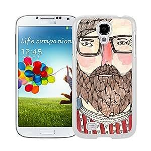 Elegant Samsung Galaxy S4 Case Charlie Soft TPU Silicone White Phone Cover by icecream design