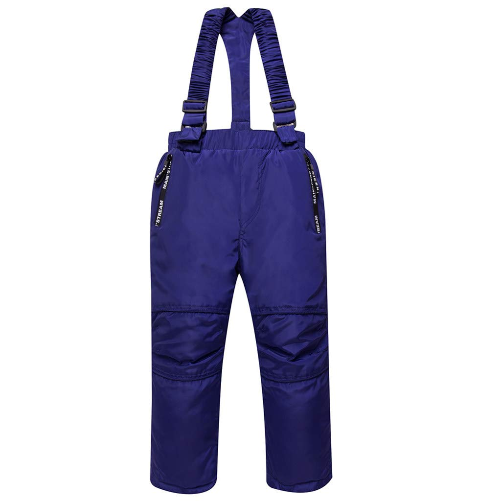 JiAmy Kids Snow Pants Ski Bibs Waterproof Winter Overalls Detachable Suspenders Huizhou Jimiaimee Costumes Co. Ltd