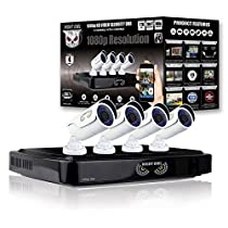 Night Owl 4 Channel Smart HD Video Security System with 1 TB HDD and 4 x 1080p HD Cameras