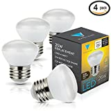 Triangle Bulbs (4 Pack), LED 4-Watt Dimmable R14 - Best Reviews Guide