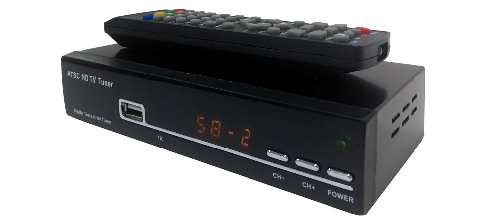 Digital TV Receiver with USB Port for OTA Antenna Channels by AllAboutAdapters