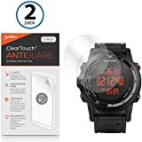 Garmin Fenix 2 Screen Protector, BoxWave® [ClearTouch Anti-Glare (2-Pack)] Anti-Fingerprint Matte Film Skin for Garmin Fenix 2