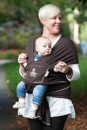 Amazon Com Baby Buddha Carrier Organic Cotton Bamboo Baby Wrap