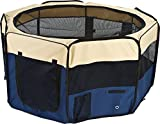 44″ Octagon Mesh Screened Portable Pet Pen Review