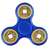 Quimat HA01_B Hand Spinner Metal Edc Fidget Toys Stainless Steel Bearing Quiet High Speed Chinese Copper Coin Design for Kids a