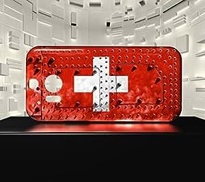Funda Carcasa para HTC M8 Bandera SUIZA 06