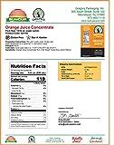 Juice Concentrate- Frozen, Orange Juice Concentrate, 32 oz., (Pack of 12)
