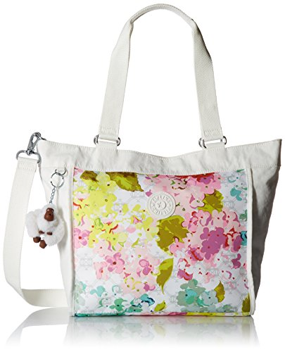 Kipling New Shopper Small Printed Colorblock Tote, Luscflrwc by Kipling