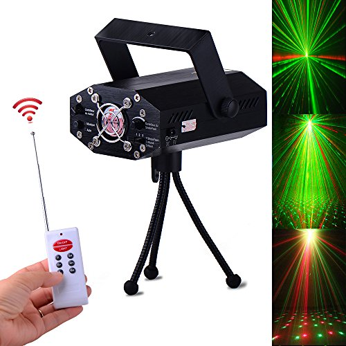 LED Stage Projector Spotlight , Mini Auto Flash RGB Led Stage Lights Sound Activated for DJ Disco Party Home Show Birthday Party Wedding Stage Lighting-ONE PK