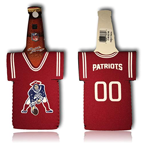 Jerseys Throwback Patriots - New England Patriots Throwback Jersey Red Bottle Suit Holder Cooler