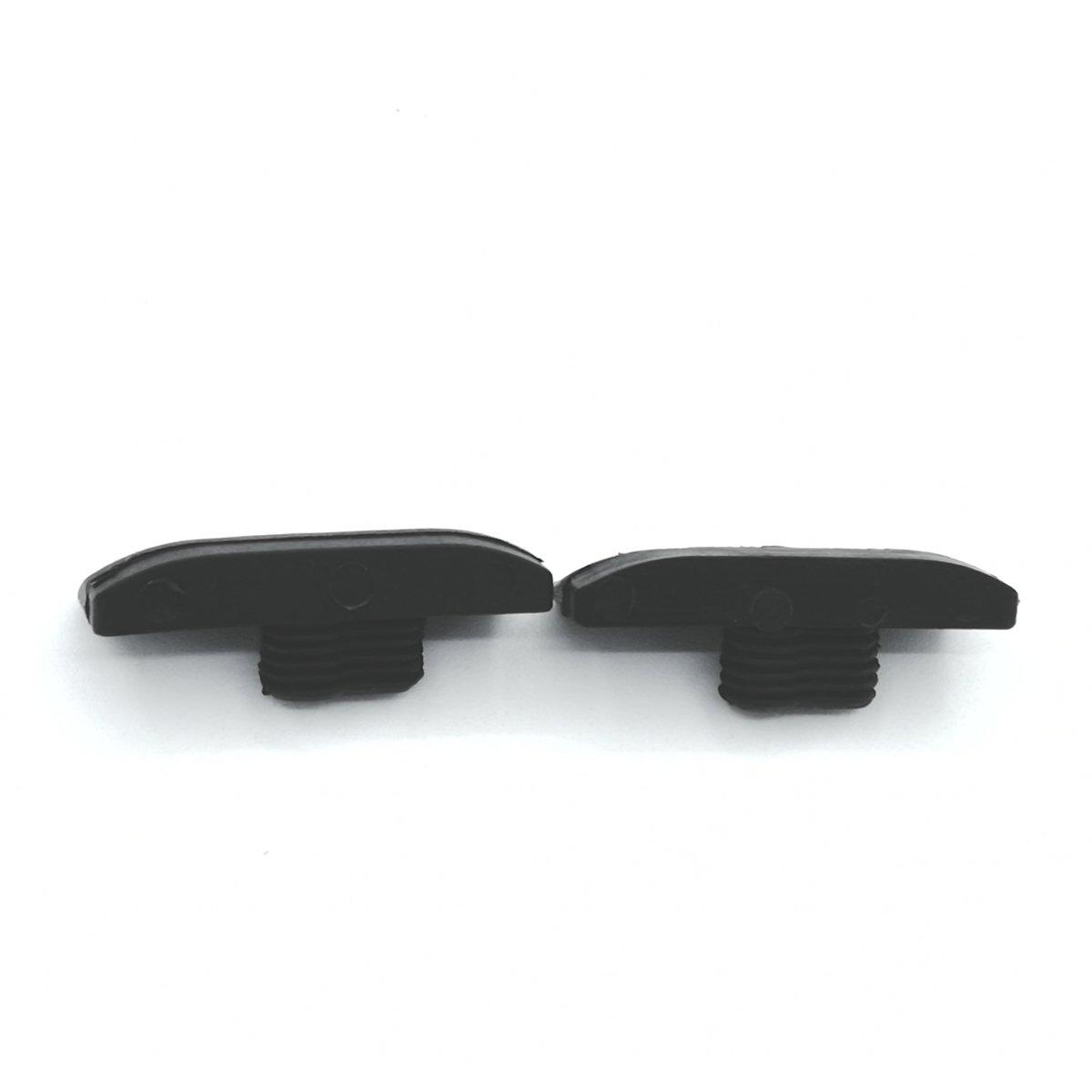 2/pi/èces Cha/îne Guide Bumper Strip pour Stihl 021/023/025/MS210/MS230/MS250/tron/çonneuse # 1123/648/6600