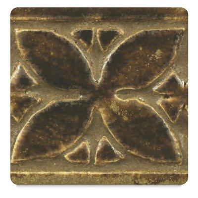 AMACO Potter's Choice Lead-Free Glaze, 1 pt, Textured Amber PC-61