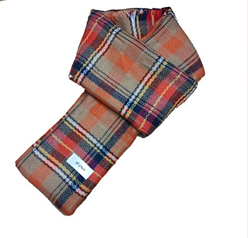 IFUNK Plaid Blanket Thick...