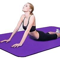 Yogamat Dikke Antislip Oefenmat Voor Thuis/Training/Sportschool/Fitness/Sport/Oefenpad