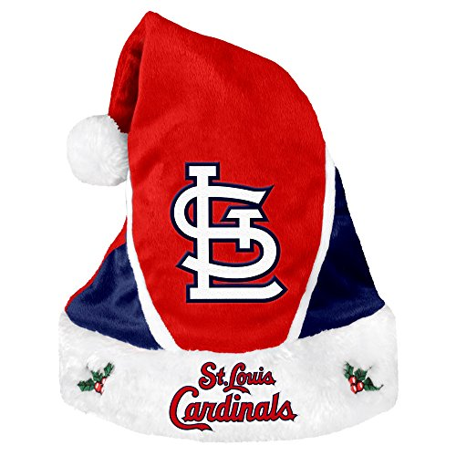 MLB St. Louis Cardinals 2014 Colorblock Santa Hat