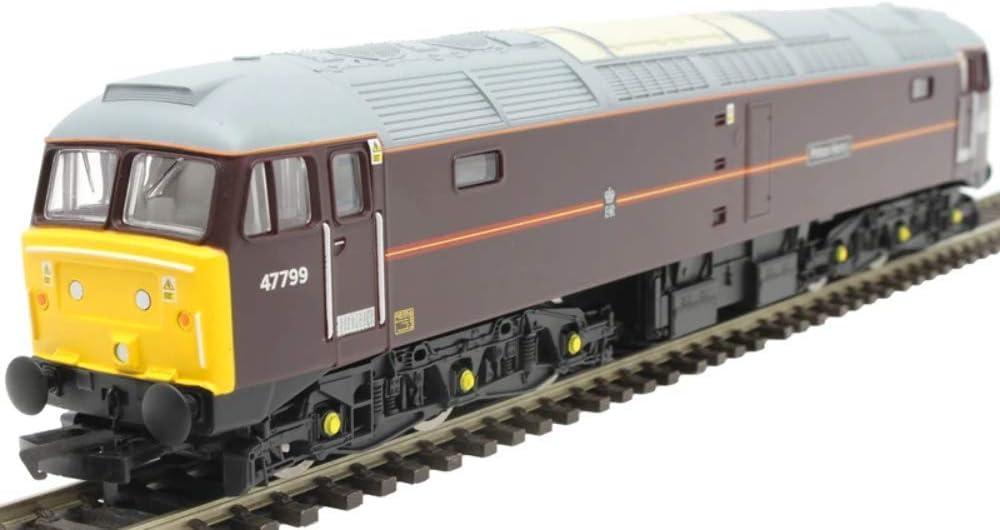 Hornby R3758 EWS Clase 47/7 Co-Co 47799 'Prince Henry' - Época 9, Multicolor