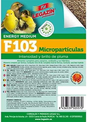 Legazin - Pienso para Aves F103 4 kg: Amazon.es: Productos ...
