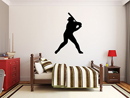 Maxx Graphixx Baseball Player Wall Decal - 39