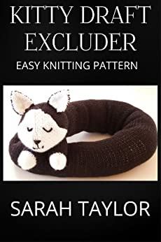 Amazon.com: Kitty Draft Excluder - Easy Knitting Pattern ...