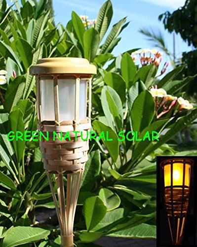 Bamboo Solar Light in US - 6