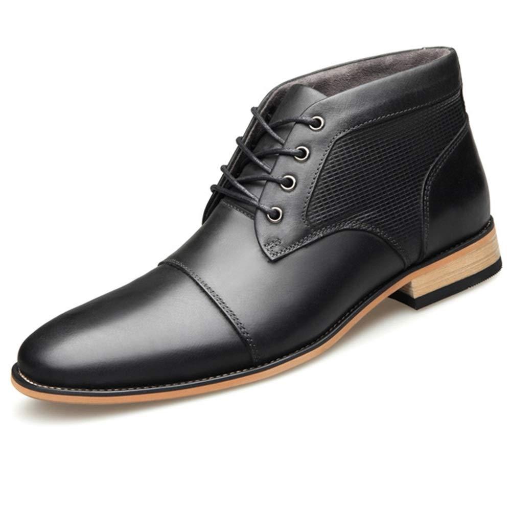 YUNLI Zapatos De Cuero Hombre Vestir Oxford Casual,Moda SóLido con ...