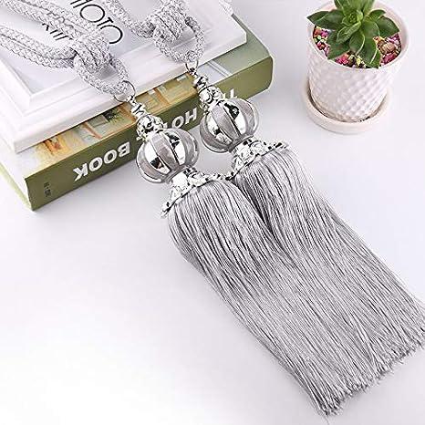 Amazon.com: Accessories Curtains - Hanging Belt Ball Curtain Holder ...