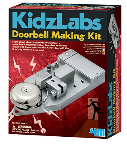 4M KidzLabs Doorbell Making Kit (Electromagnetism Kit)
